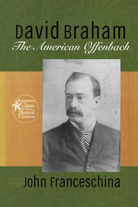 David Braham: The American Offenbach book cover