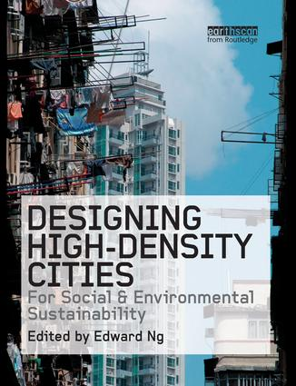 Designing High-Density Cities: For Social and Environmental Sustainability book cover