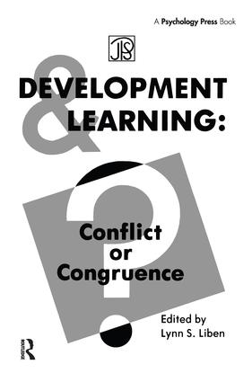 Development Learning: Conflict Or Congruence? book cover