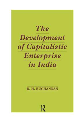 Development of Capitalistic Enterprise in India: 1st Edition (Paperback) book cover