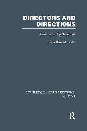 Directors and Directions: Cinema for the Seventies book cover