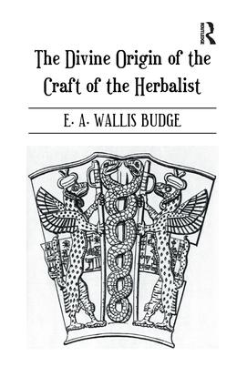 Divine Origin Of Craft Of Herbal: 1st Edition (Paperback) book cover