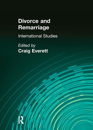 Divorce and Remarriage: International Studies, 1st Edition (Paperback) book cover