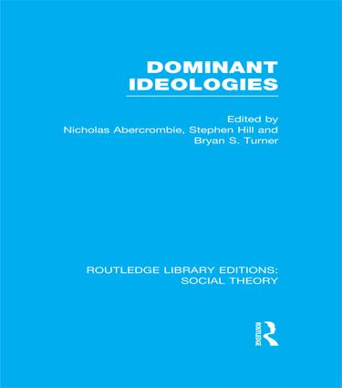 Dominant Ideologies: 1st Edition (Paperback) book cover