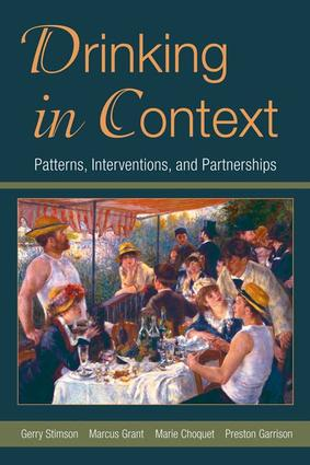 Drinking in Context: Patterns, Interventions, and Partnerships, 1st Edition (Paperback) book cover