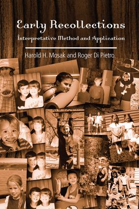 Early Recollections: Interpretive Method and Application, 1st Edition (Paperback) book cover
