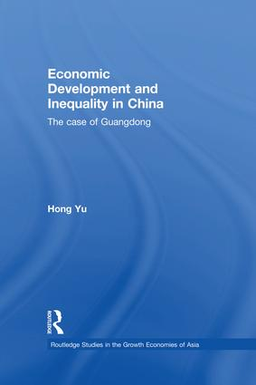 Economic Development and Inequality in China: The Case of Guangdong book cover
