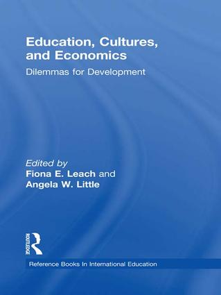 Education, Cultures, and Economics: Dilemmas for Development (e-Book) book cover