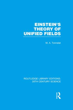 Einstein's Theory of Unified Fields book cover