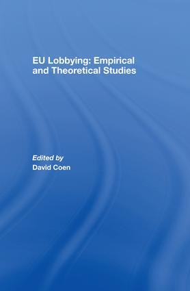 EU Lobbying: Empirical and Theoretical Studies: 1st Edition (e-Book) book cover