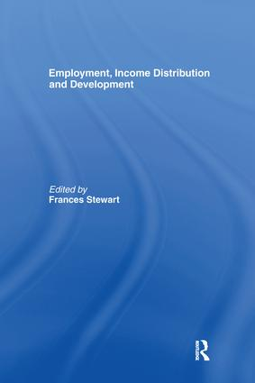 Employment, Income Distribution and Development: 1st Edition (Paperback) book cover