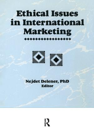 Ethical Issues in International Marketing book cover