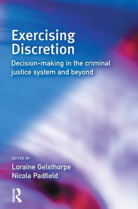Exercising Discretion: 1st Edition (e-Book) book cover