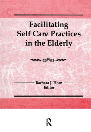 Facilitating Self Care Practices in the Elderly