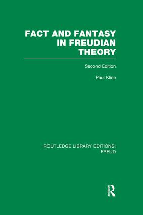 Fact and Fantasy in Freudian Theory (RLE: Freud) book cover