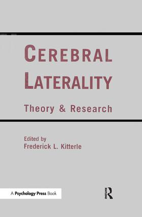 Cerebral Laterality: Theory and Research book cover
