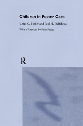 Children in Foster Care book cover