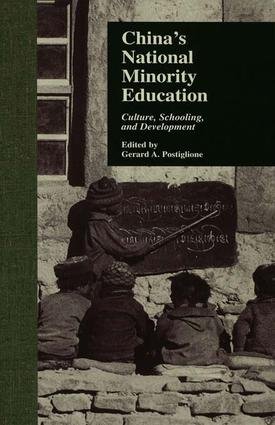 China's National Minority Education: Culture, Schooling, and Development, 1st Edition (e-Book) book cover