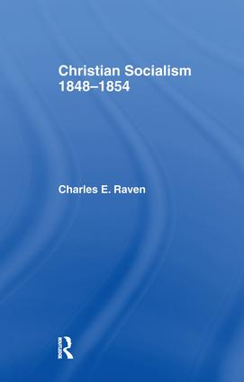 Christian Socialism, 1848-1854: 1st Edition (Paperback) book cover