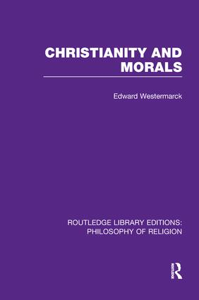 Christianity and Morals book cover