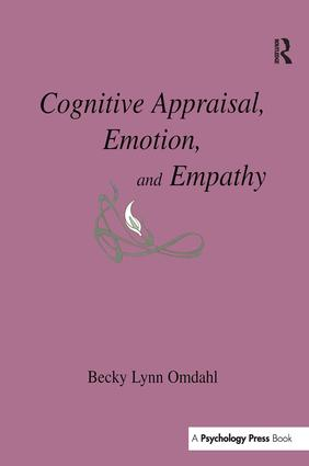 Cognitive Appraisal, Emotion, and Empathy: 1st Edition (Paperback) book cover