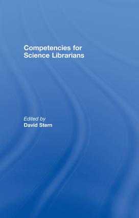 Competencies for Science Librarians: 1st Edition (Paperback) book cover