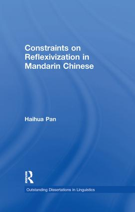 Constraints on Reflexivization in Mandarin Chinese book cover