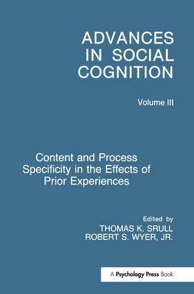 Content and Process Specificity in the Effects of Prior Experiences
