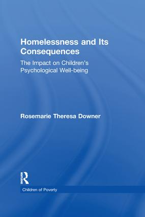 Homelessness and Its Consequences: The Impact on Children's Psychological Well-being book cover
