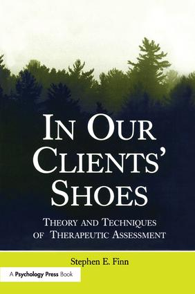 In Our Clients' Shoes: Theory and Techniques of Therapeutic Assessment (Paperback) book cover