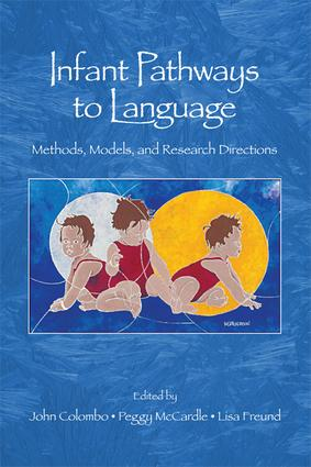 Infant Pathways to Language: Methods, Models, and Research Directions book cover