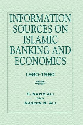 Information Sources on Islamic Banking and Economics