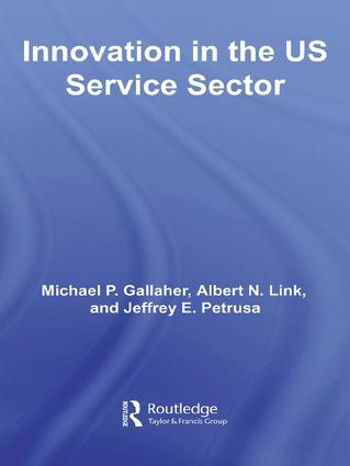 Innovation in the U.S. Service Sector book cover