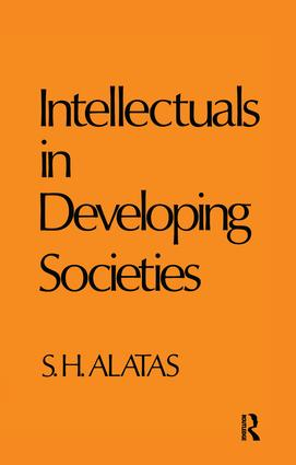 Intellectuals in Developing Societies: 1st Edition (Paperback) book cover