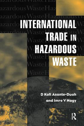 International Trade in Hazardous Wastes: 1st Edition (Paperback) book cover