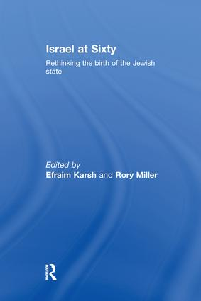 Israel at Sixty: Rethinking the birth of the Jewish state, 1st Edition (Paperback) book cover