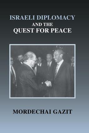 Israeli Diplomacy and the Quest for Peace book cover