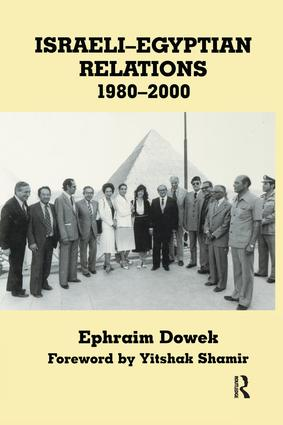 Israeli-Egyptian Relations, 1980-2000: 1st Edition (Paperback) book cover