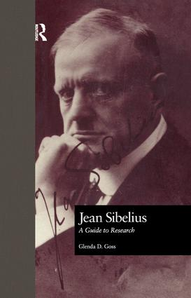 Jean Sibelius: A Guide to Research, 1st Edition (Paperback) book cover
