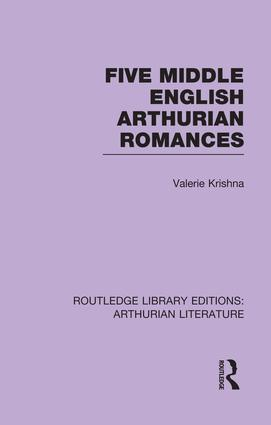 Five Middle English Arthurian Romances book cover