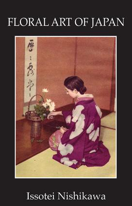 Floral Art Of Japan: 1st Edition (Paperback) book cover