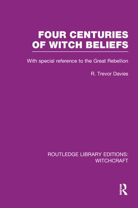 Four Centuries of Witch Beliefs (RLE Witchcraft) book cover