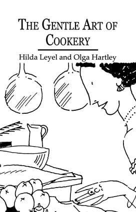 Gentle Art Of Cookery: 1st Edition (Paperback) book cover