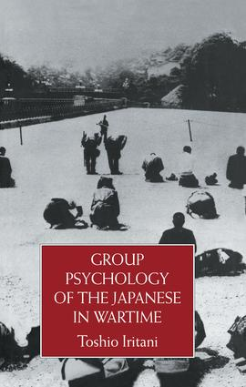 Group Psychology Of The Japanese: 1st Edition (Paperback) book cover