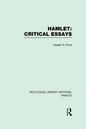 Hamlet: Critical Essays book cover