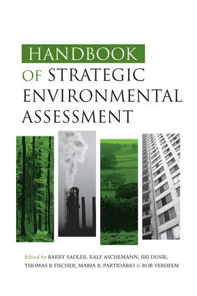 Handbook of Strategic Environmental Assessment: 1st Edition (Paperback) book cover