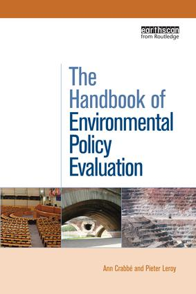 The Handbook of Environmental Policy Evaluation book cover