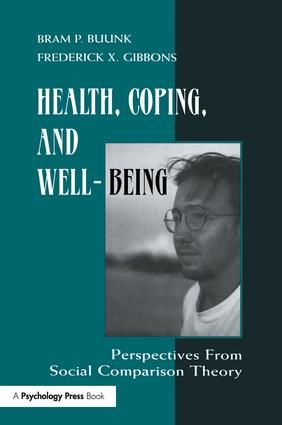 Health, Coping, and Well-being: Perspectives From Social Comparison Theory, 1st Edition (Paperback) book cover