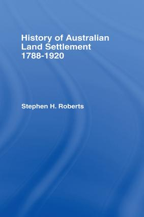 History of Australian Land Settlement