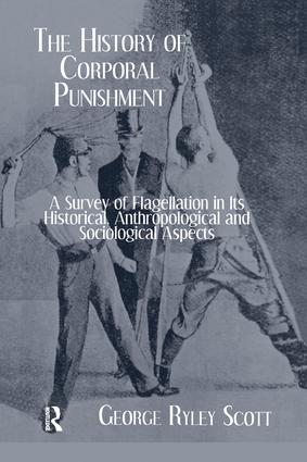 History Of Corporal Punishment: 1st Edition (Paperback) book cover